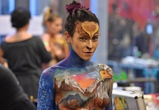 Concurso Face and body painting