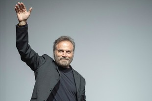 Una de las personalidades presentes, el actor Franco Nero.