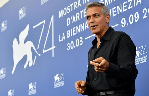 El actor, director y productor George Clooney