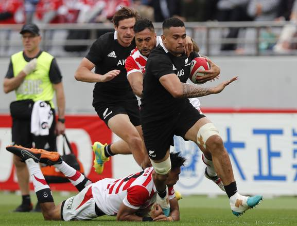 Test match de All Blacks contra Japón ©