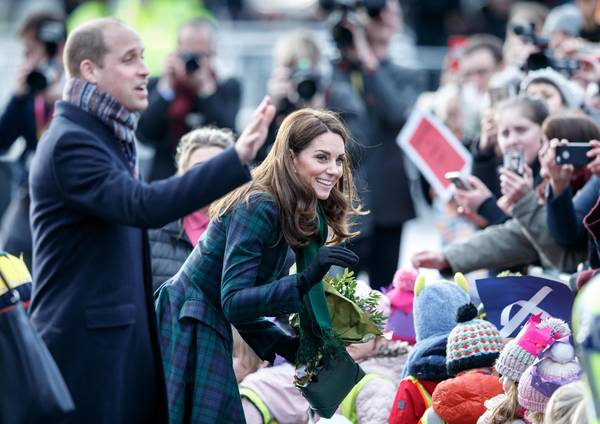 Escocia: William y Kate inauguran Museo V&A Dundee ©