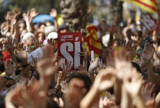 Cataluña movilizada por referendo independentista