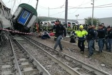 Accidente ferroviario en Milán