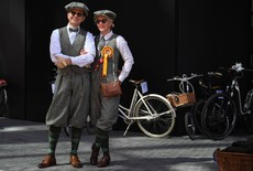 Exhibición ciclista London Tweed 2018